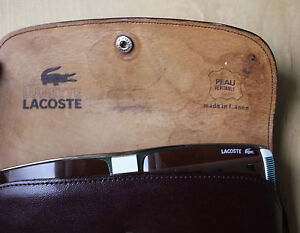 Lacoste 138 Vintage Sun Glasses Sonnen Brille 60 [ ] 14 132  Made in France