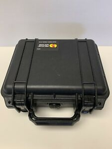 Pelican 1200 Case with Foam (Black)  w/ GoPro Layout