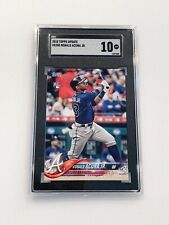 New listing 2018 Topps Update US250 *RONALD ACUNA JR.* Rookie Card (RC) SGC 10 Gem Mint