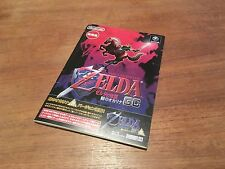 Zelda Ocarina of Time -  Club Nintendo - Gamecube Wii game Japanese Japan NTSC