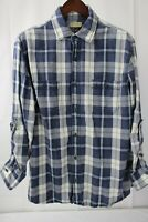 Sonoma 100% Cotton Plaid Flannel Button Down Shirt Size - Extra Large