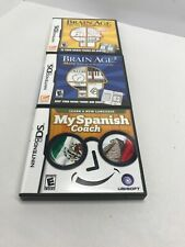 Lot of 3 Nintendo DS Game Cases   CASES & MANUALS ONLY