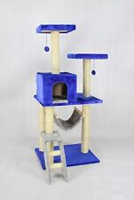 "Deluxe 53"" Cat Tree Tower Condo Scratcher Furniture Kitten House Hammock 12240"