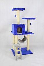 "Deluxe 53"" Cat Tree Tower Condo Scratcher Furniture Kitten House Hammock 12240"