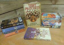 Bundle of Terry Pratchett Discworld Books x 10 - Joblot collection *FREE UK P&P*