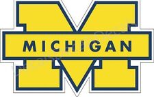 University Of Michigan Wolverines Sticker Decal Car/Truck  Free Shipping p86