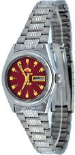Orient BNQ1X003H Women's 3 Star Stainless Steel Red Dial Automatic Watch