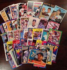 HUGE Lots-vintage W 1960s Baseball Cards Nolan Ryan Cal Ripken Jr Ken Griffey Jr