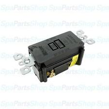 Spa Hot Tub Heater Control GFCI Breaker Leviton 120V 20A SPST 6590-B 8590-XE
