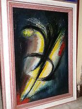 Rare oeuvre de Roudneff période abstraite de 1963