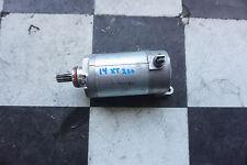 Q11 2014 Yamaha XT250e 14 XT 250 Electric Starting Motor Starter