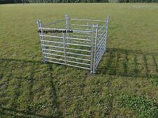 SHEEP HURDLES 10 X 4FT LONG GALV STEEL NEW