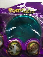 Critter Trail Hamster Or Mouse Food Bowl Teal Color
