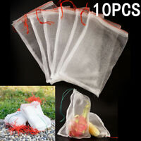 Mesh Drawstring Reusable Washable Vegetable Fruit Grocery Bag Storage Mesh Pouch