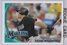 GIANCARLO STANTON ROOKIE CARD Topps Update RC Debut Mike BASEBALL MIAMI MARLINS