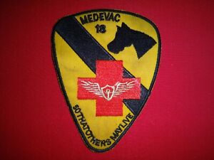 Vietnam War Patch MEDEVAC 18 US 1st Cavalry Division SO THAT OTHERS MAY LIVE