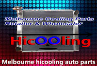 3 CORE 52mm FOR Holden V8 Commodore VG VL VN VP VR VS aluminum Radiator AT&MT