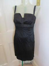 Amanda Wakeley black cocktail dress sz   UK 12-14 small fit