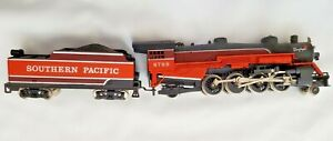 Daylight Southern Pacific 6789 Steam Locomotive Train Coal Car and Engine-Tested