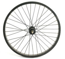 "20"" Kids Youth BMX Bike Front Wheel 3/8"" Aluminum Alloy Black NEW"