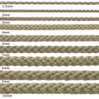 KHAKI OLIVE POLYPROPYLENE ROPE POLY CORD STRONG STRING CAMPING SAILING YACHT