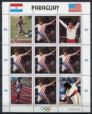 PARAGUAY 1985 Olympiade Olympics Los Angeles 1984 3830 Kleinbogen ** MNH