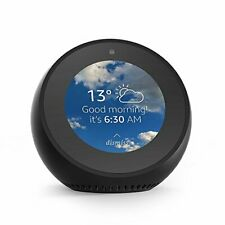 Amazon Echo Spot, Smart Alarm Clock with Alexa - Black
