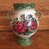 Vintage Art Pottery Flower Vase