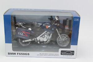 Automaxx Premium Motorcycle 1:12 BMW F 650 GS 112 New Original Packaging