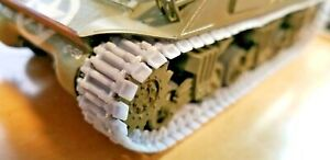 Sherman Tank Tracks - 1:48 Scale - T51/T48/T49/T54/T62-With or Without DuckBills