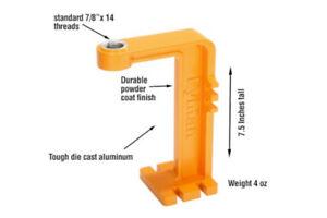 "Lyman® Brass-Smith® Powder Measure Stand, standard 7/8""x 14 threads, Aluminum"