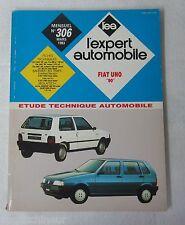"Revue technique EXPERT AUTOMOBILE 306 1993 Fiat Uno ""90"""