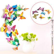 108 Set 3D Schmetterlinge Wandtattoo Wanddeka Wand Deko Wandtatoo Wandaufkleber