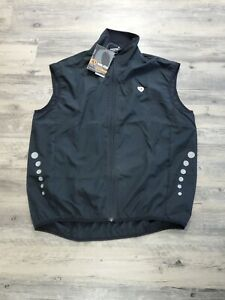 Men's Pearl Izumi Zephrr P.R.O. Cycling Vest Black SAFTEY REFLECTIVE Fall-04 XL