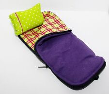 Dollhouse 1:12 Miniature SLUMBER PARTY SLEEPING BAG #2 American Girl Mini ILLUMA