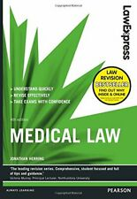 Law Express: Medical Law (Revision Guide) by Herring, Jonathan Book The Fast