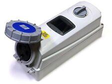 ESR IP67 Industriale Interruttore Presa Di Interblocco 200V 250V 2 Pin+Terra 63A
