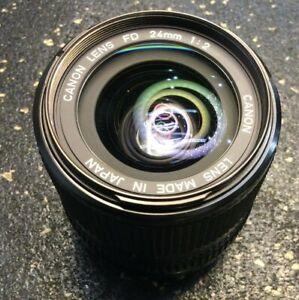 Canon Lens FD 24mm 1:2 Japan