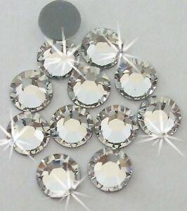 1440 CRS 2.5mm iron-on Clear Rhinestone diamante bead diy cardmaking machine cut