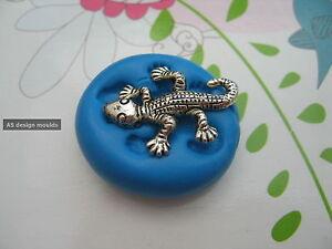 Mini Lizard Reptile Silicone Mould/Mold Sugar Craft, Cupcakes Toppers