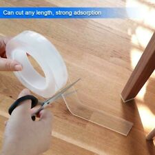 Transparent Double Sided Tapes Adhesive Glue Nano Magic Reusable Tape Waterproof