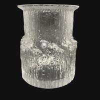 Iittala Glass Vase Arnica Tapio Wirkkala Vintage Finnish MCM Scandinavian