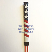 Alignment Stick Headcovers,Alignment Sticks,Swing Trainer,Stars and Stripes