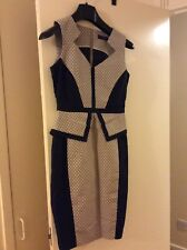 Ladies size 8 spotted pencil dress