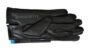 Isotoner SmarTouch Leather Gloves Ultra Plush Lining Men's M/L/XL Black/Brown