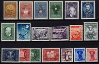 PP135020/ AUSTRIA STAMPS – YEARS 1948 - 1950 MINT MNH / MH – CV 235 $