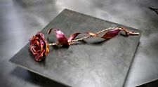 Copper Remembrance Rose #1838 Memorial Funeral Get Well Soon Sympathy Recovery
