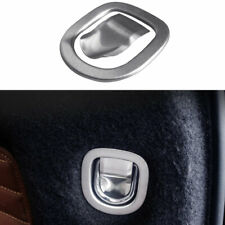 For Buick Envision 2016-2020 Silver Steel Tailgate Trunk Hook Cover Trim 2PCS