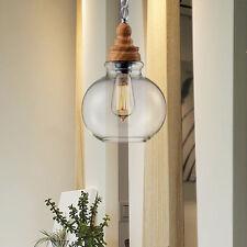 Modern Chandelier Lobby Glass Pendant Lighting Dinning Room LED Ceiling Light