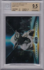 STAR WARS 2015 TOPPS HIGH TEK MOMENTS OF POWER MP6 YODA 04/50 BGS 9.5 GEM MINT